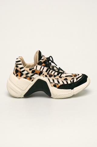 Skechers - Kožená obuv x Mark Nason dámské čierna 36