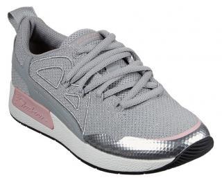 Skechers sivé tenisky Bobs - 36 dámské sivá 36