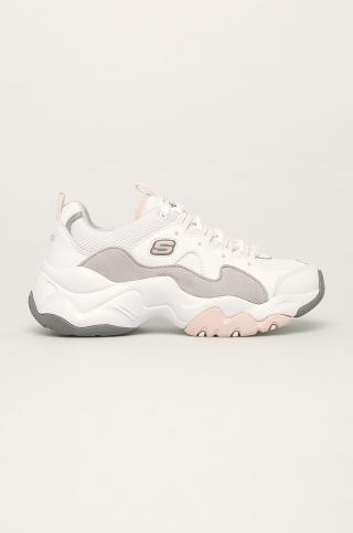 Skechers - Topánky dámské biela 36