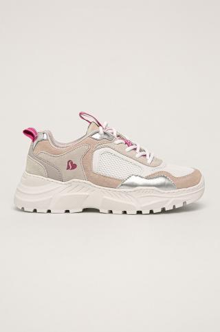 Skechers - Topánky dámské biela 37