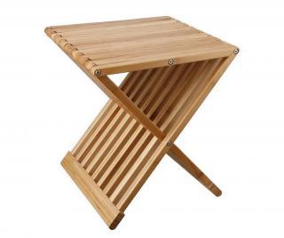Skladací konferenčný stolík Tiger Hnedá