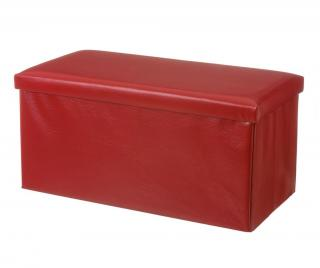 Skladacia lavička Simple Red Červená
