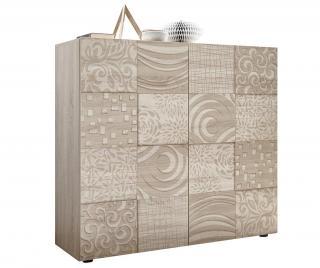 Skříňka Blossom Krémová