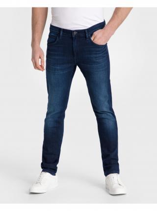 Slim fit pre mužov Lee - modrá pánské XS