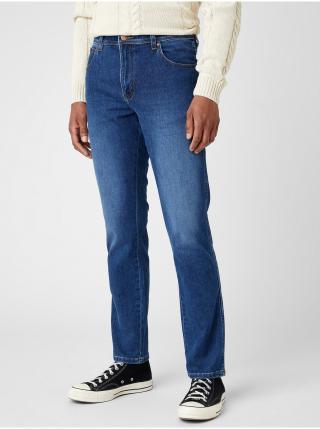 Slim fit pre mužov Wrangler - modrá pánské M