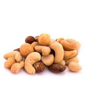 Směs pražených, solených ořechů 500g