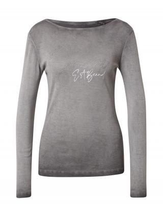 Soccx Tričko  sivá / biela dámské L