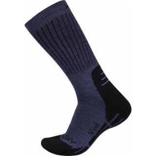Socks HUSKY ALL-WOOL modrá M