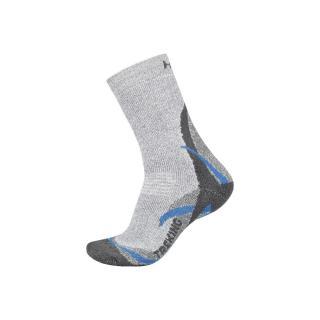 Socks HUSKY TREKING NEW biela | šedá M