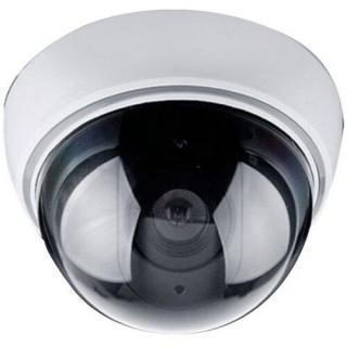 SOLIGHT maketa bezpečnostnej kamery na strop LED dióda 3 x AA 1D41