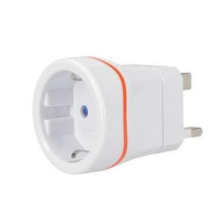 Solight PA01-UK Cestovný adaptér pre použitie vo Veľkej Británii, biela