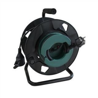 Solight PB30 - Predlžovací kábel na bubne 1Z 25m, IP44 | SL0683