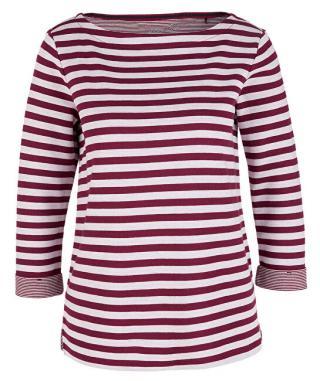 s.Oliver Dámske tričko 04.899.39.5350.49X0 Jewel Red Knit Dessin 34