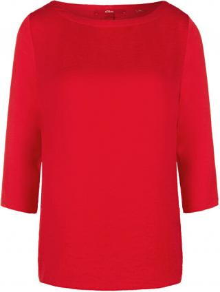 s.Oliver Dámske tričko 14.003.39.5901.3123 Luminous red 38