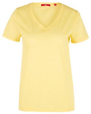 s.Oliver Dámske tričko 14.906.32.7009.1355 Bright Yellow 38
