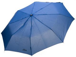 s.Oliver Dámsky skladací mechanický dáždnik Fruit Coctail UNI - 70801SO2303 Blue dámské