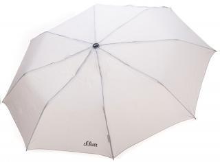 s.Oliver Dámsky skladací mechanický dáždnik Fruit Coctail UNI - 70801SO2305 Beige dámské