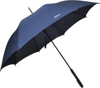 s.Oliver Palicový vystreľovací dáždnik City Uni Automatic - modrý 71461SO300