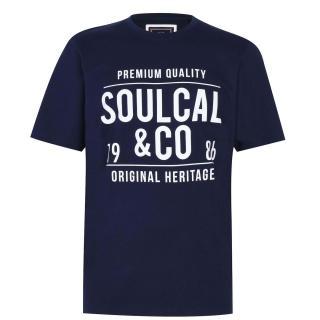 SoulCal Large Logo T Shirt Mens pánské Other XXL