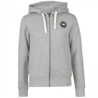 SoulCal Signature Zip Hoodie pánské Grey Marl   Other S