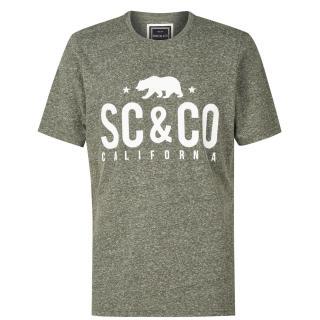 SoulCal Textured Flecked T Shirt pánské Other S