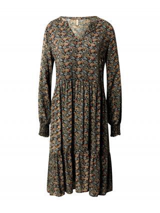 Soyaconcept Košeľové šaty TIRA 3  čierna / zmiešané farby dámské 36