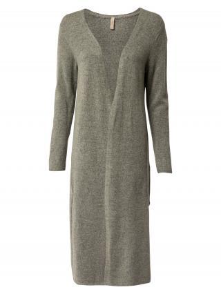 Soyaconcept Pletený kabát NESSIE 29  olivová dámské XS