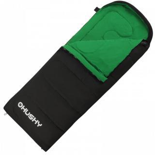 Spací pytel HUSKY GALA čierna | zelená One size