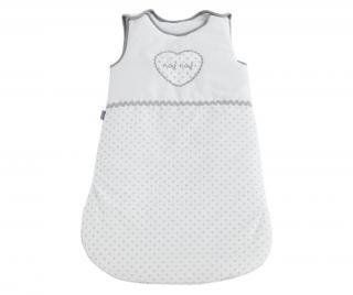 Spací vak pre deti Heart 12 m. Biela 12 months