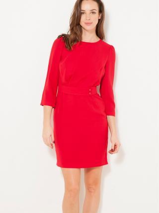 Spoločenské šaty pre ženy CAMAIEU - červená dámské XL