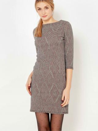 Spoločenské šaty pre ženy CAMAIEU - sivá dámské S