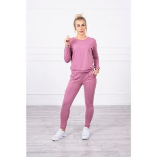 Sport set dark pink dámské Neurčeno One size