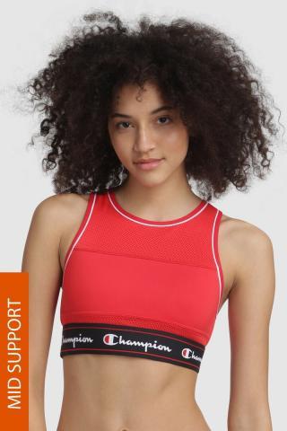 Športová podprsenka Champion Red Scarlet červená XS