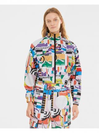 Športové bundy pre ženy Puma - zlatá dámské fialová XL