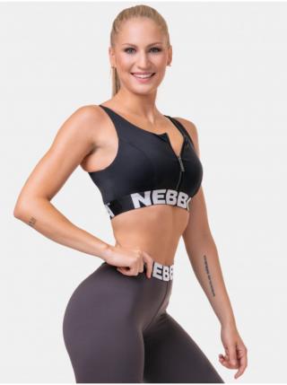 Športové podprsenky pre ženy NEBBIA - čierna dámské L