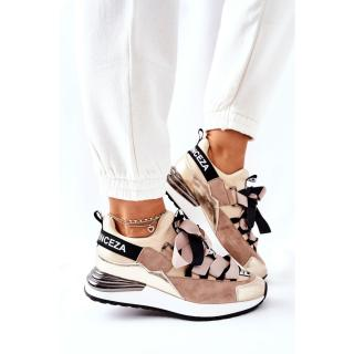 Sporty Sneakers Shoes Beige Dexla dámské Other 38
