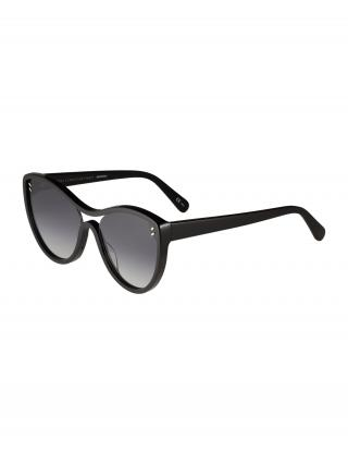 Stella McCartney Slnečné okuliare SC0154S 60  sivá / čierna dámské 60