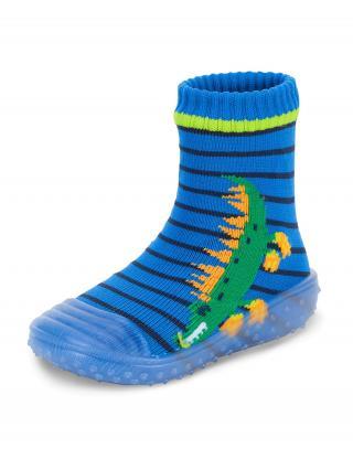 STERNTALER Ponožky  modrá / zelená / oranžová / námornícka modrá / tmavozelená 24
