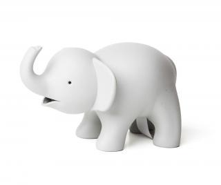 Stojan na kancelársku lepiacu pásku a spony Elephant Grey Sivá & Striebristá