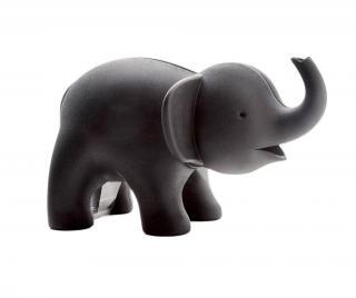 Stojan na lepicí pásku a kancelářské sponky Elephant Black Černá