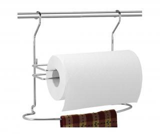 Stojan na papierové utierky Artik Sivá & Striebristá