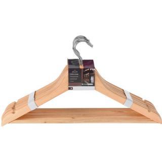 Storage Solutions 8-dielna sada drevených vešiakov