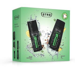 STR8 FR34K - deodorant ve spreji 150 ml   sprchový gel 250 ml pánské