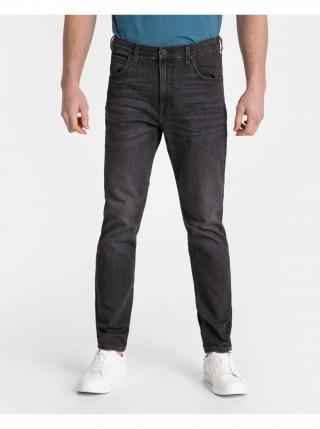 Straight fit pre mužov Lee - čierna pánské S