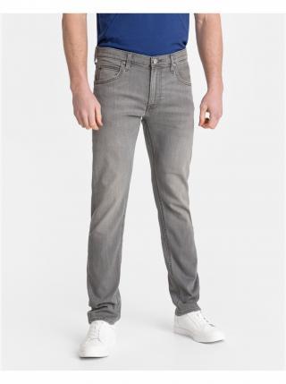 Straight fit pre mužov Lee - sivá pánské S