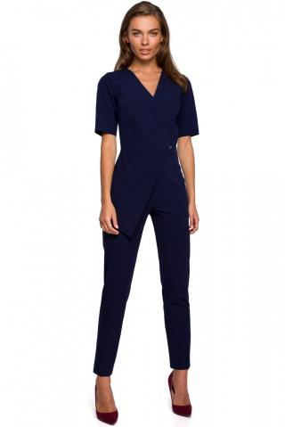 Stylove Womans Jumpsuit S241 Navy Blue dámské L
