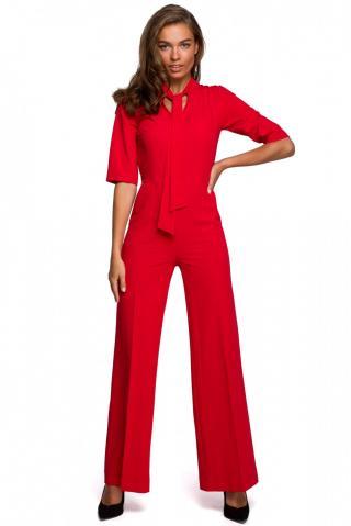 Stylove Womans Jumpsuit S243 dámské Red L