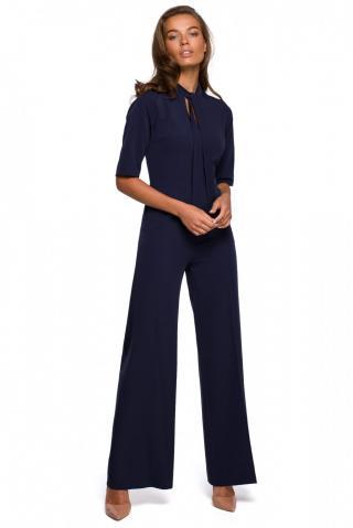 Stylove Womans Jumpsuit S243 Navy Blue dámské S
