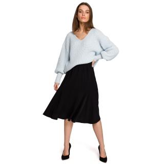 Stylove Womans Skirt S261 dámské Black L