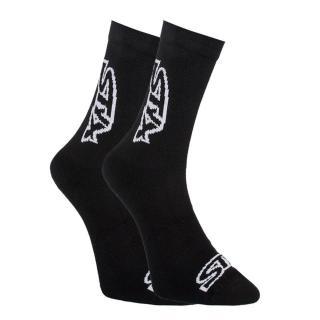 Styx high socks black with white logo  pánské Other XL